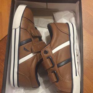Nautica Boys colburn Leather Sneaker
